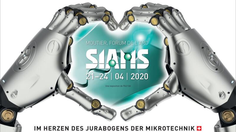 SIAMS 2022 in Moutier (09/2020)
