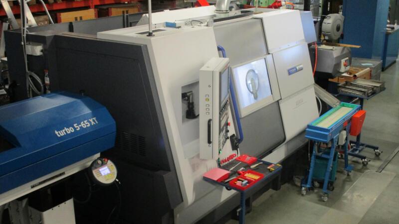 Produktionserweiterung mit CNC-Drehzenter (11/2019)