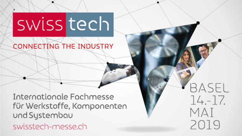 Messe Swisstech in Basel (02/2019)